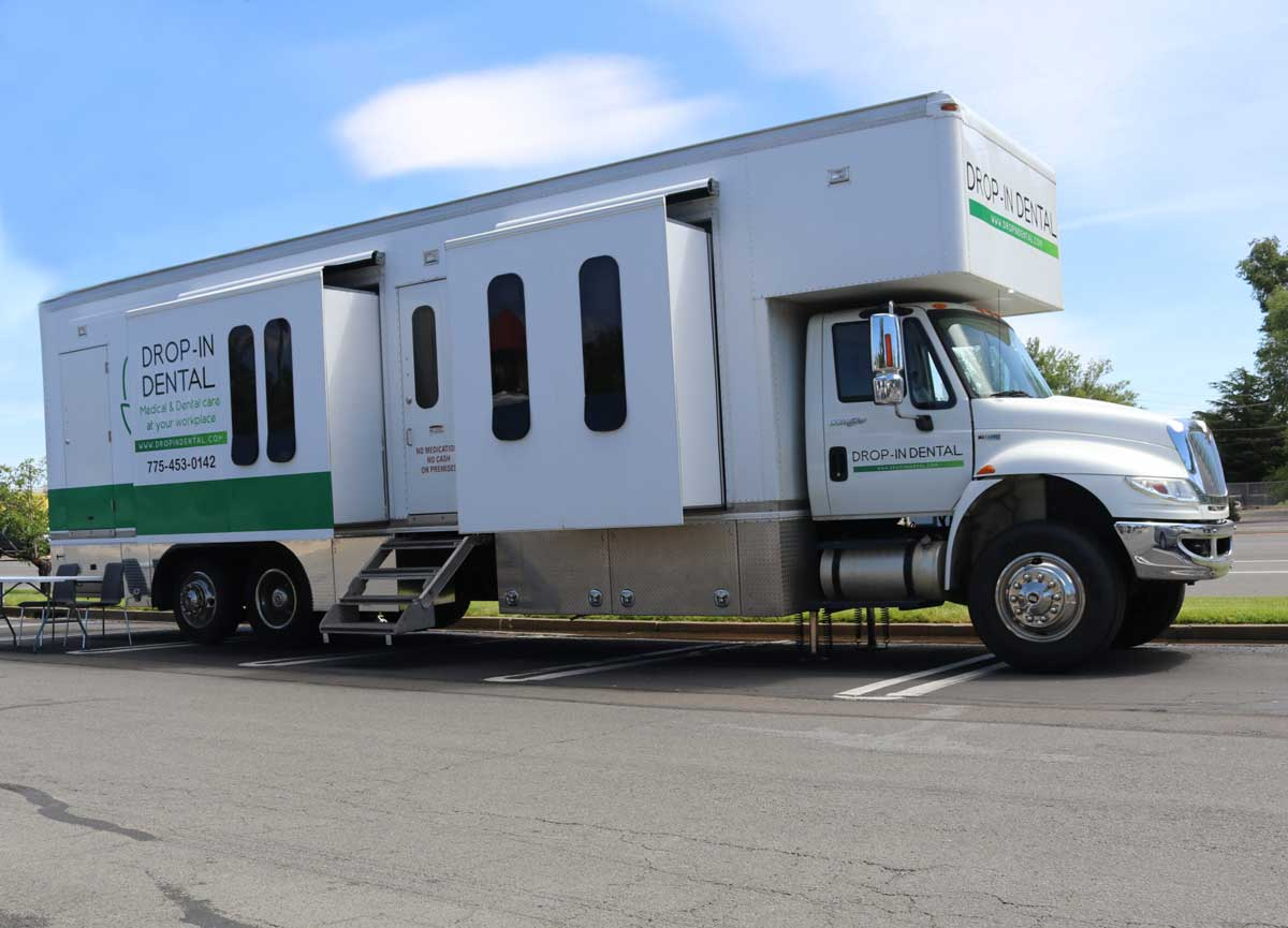 drop in dental mobile truck